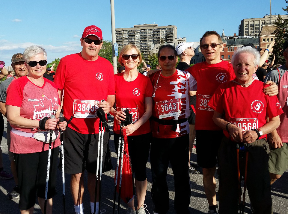 Heart Institute's 10k Walk During the Ottawa Race Weekend